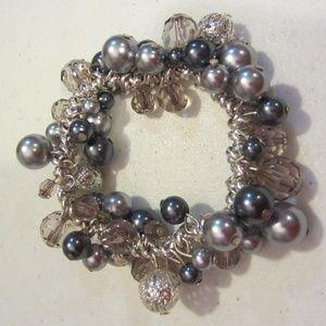 Bobble elastic bracelet  festive